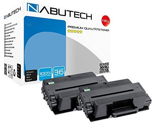 2 XXL Nabutech Toner 100{aa02f73207c97931f3b162d35e162bf0a4799f48030319a32aeae7f8a71be3b6} mehr Leistung ersetzen Samsung MLT-D205E ML3710 ML3710D ML3710DW ML3710N ML3710ND ML3712DW ML3712ND SCX5637 SCX5637F SCX5637FN SCX5637FR SCX5639 SCX5737 SCX5737FW SCX5739FW