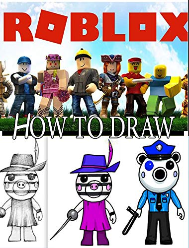 How To Draw Roblox Characters Step By Step Drawings For Kids And