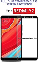 Dashmesh Shopping® 3D Tempered Glass ShatterProof (Full Body Glue) (Edge to Edge) Screen Protector for Xiaomi Redmi Y2 - (Black)