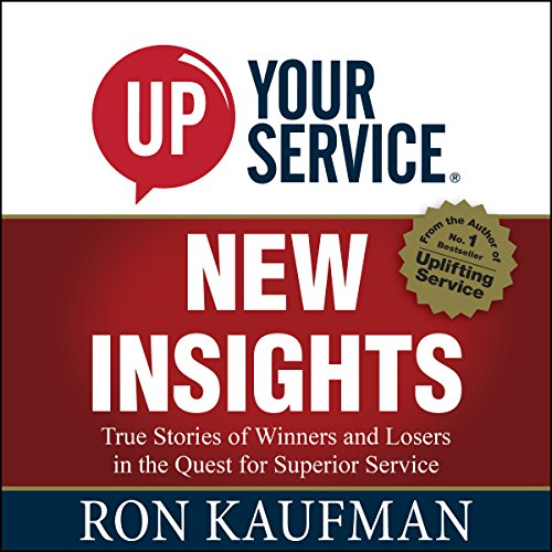 UP! Your Service New Insights audiobook cover art