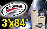 3M Clear Bra Scotchgard Paint Protection Bulk Film Roll 3-by-84-inches