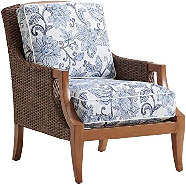 Tommy Bahama Harbor Isle Patio Lounge Chair in Blue