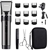 WONER Mens Hair Clippers, Cordless Rechargeable Men's Hair Trimmer, 16-Piece Home Haircut Set