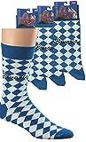 3 Paar Computer-Socken Bavaria für Damen & Herren CH-187 (37-42)