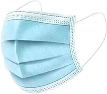 Disposable 3 Ply Surgical Face Mask (Blue - 100 Pieces)