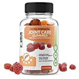 Easy-to-Take Joint Support Gummies - Glucosamine & Vitamin E Joint Supplement to Help Support Joints & Cartilage - 60 Count