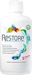 Restore Promotes Gut-Brain Health | Alleviates Gluten Sensitivity, Enhances Mental Clarity, and Strengthens Immune Function and Digestive Wellness | 2-Month Supply