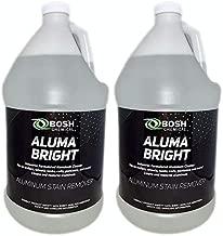 Bosh Chemical Alumabright Aluminum Cleaner & Brightener & Restorer (2 Gallon Case)