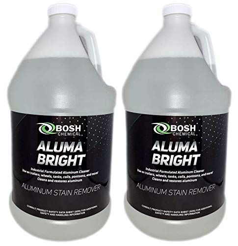 Bosh Chemical Alumabright Aluminum Cleaner & Brightener & Restorer (2 Gallon Case)