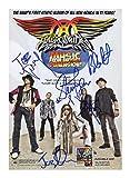 Aerosmith Signiert Autogramme 21cm x 29.7cm Plakat Foto