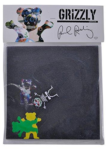 Grizzly Griptape: Paul Rodriguez Signature (4 Pre-Cut Square)