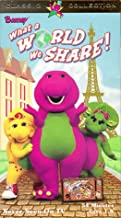 Barney: What a World We Share VHS