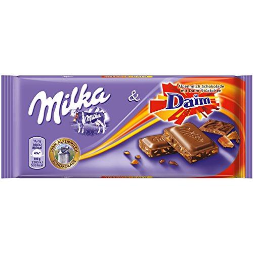 Milka Schoko 100g, Daim 20 x100 g