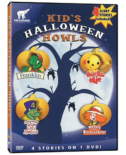 Kid's Halloween Howls: Franklin / Maggie and the Ferocious Beast / Rolie Polie Olie / Seven Little Monsters