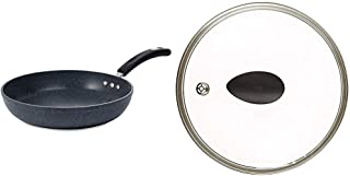 """10"""" Stone Earth Frying Pan and Lid Set by Ozeri, with 100% APEO & PFOA-Free Stone-Derived Non-Stick Coating from Germany"""
