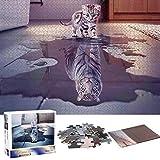 Puzzle Redondo 1000 Piezas,Puzzle,Rompecabezas Redondo,Puzzle Creativo,Puzzle Adultos (J)