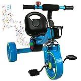 Airel Bici Correpasillos | Triciclos para Niños | Triciclo con Asiento |...