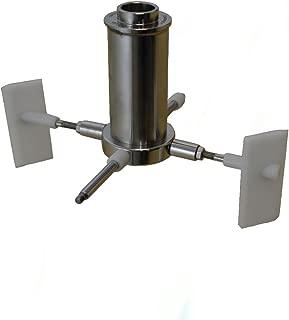Stainless Steel Stone Holder for Tilting Premier Chocolate Refiner