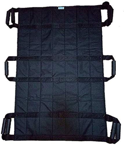 SHRFC Bettpositionierungskissen mit verstärkten Griffen, wiederverwendbarem und waschbarem Patientenblatt zum Drehen, Drehen, Heben und Neupositionieren