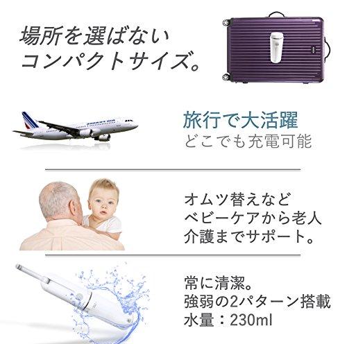 LIworld『携帯おしり洗浄機』