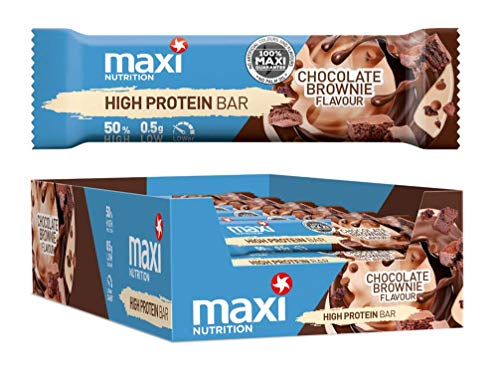 MaxiNutrition High Protein Bar - Chocolate Brownie, 21 x 40g (840g)