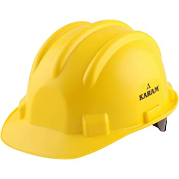 Karam Safety Helmet PN-521 Rachet Type - Yellow