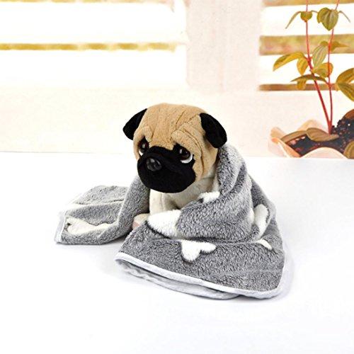 WYXlink Manta para mascota, diseño de elefante, transpirable, suave y cálida