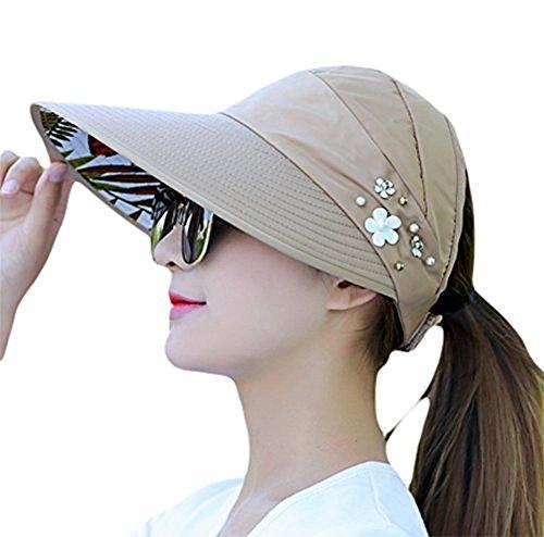 Hosaire Sombrero para el Sol de Mujer Moda Ondas de la Playa Estilo Nuevo