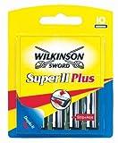 Wilkinson - Super II Plus - Lames de rasoir pour Homme - Pack de 10