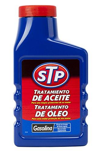 STP ST60300SP Tratamiento Coches Gasolina 300 ML Mejora la viscosidad reduciendo el Consumo de Aceite, 300ml