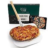 Dolce Mare® Deslizador de Pizza - Pala de Aluminio para Pizza con Mango de bambú Robusto para un...
