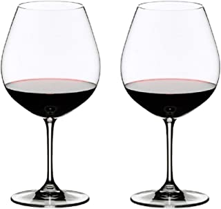 Riedel 6416/07 VINUM Pinot Noir Glass, Set of 2, Clear