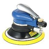 Lijadora Neumática de Aire,10000RPM,6' Lijadora de Orbital,Lijadora Orbital Neumática Dual-acción,Ampliamente utilizado en reparación de automóviles, muebles de carpintería, reparación de barcos