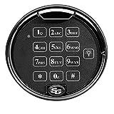 Sargent & Greenleaf S&G AxisBlu Bluetooth Electronic Safe Lock Kit | 1-Battery Keypad