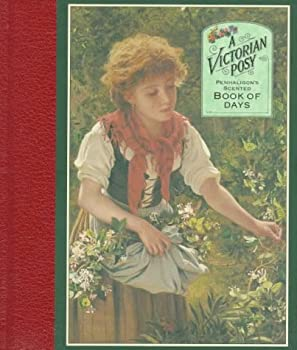 Hardcover Victorian Posy: Book of Days Book
