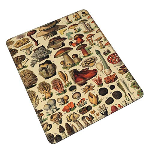 Popular Mushroom Collage Gaming Mouse Pad Gaming Mouse Pad Custom Mouse Mat Mouse Pads Decorative For Laptop Pc Computers Keyboard