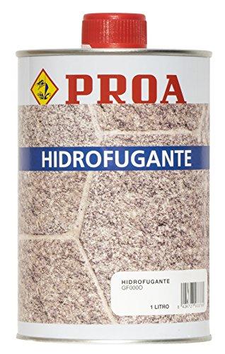 Hidrofugante Proa para piedra. Repelente de agua impermeabilizante.