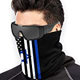 American Israeli Flag Men Women Face Mask Neck Gaiter Headwear For Skiing