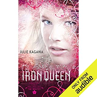 The Iron Queen audiobook cover art