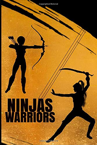 Ninjas Warriors  Notebook - 100 Pages - For Teens Kids Students: For Young Boys