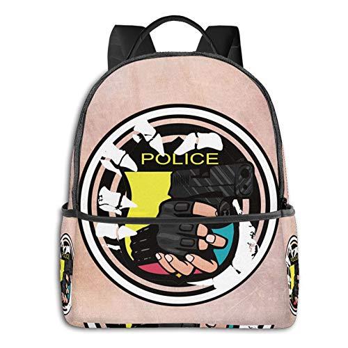 Respect And Creative Backpack Boy Backpack, Cute Girl Backpack Teen School Travel Backpack
