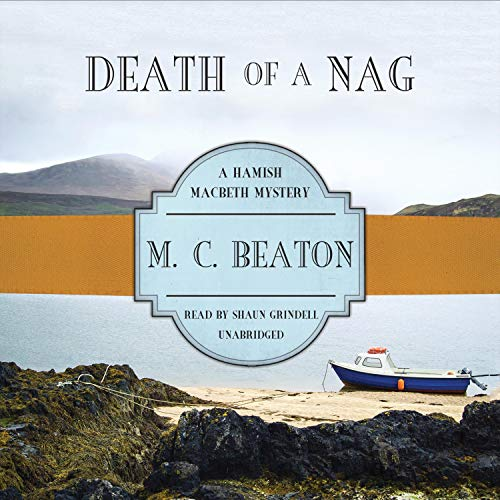 Death of a Nag Audiobook By M. C. Beaton cover art