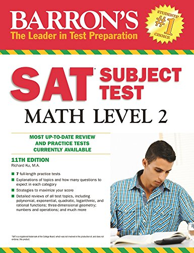 Barron\'s SAT Subject Test Math Level 2