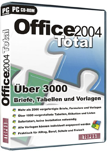 Office 2004 Total [import allemand]