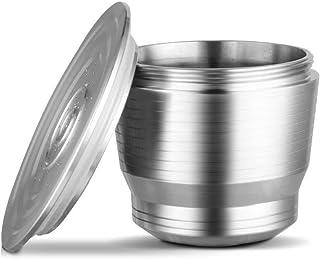 Filtro de Caf/é de Doble Malla qipuneky Filtro de Caf/é de Acero Inoxidable Filtro de Caf/é de Mano 300 Malla