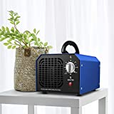 Sailnovo Ozone Generator Inrial O3 Ionizers 6000 mg Ozone Generator, Inrialist Ozone Ionizers mit Adjustable Setting| Deodorizer for Home, Office, Boat and Car