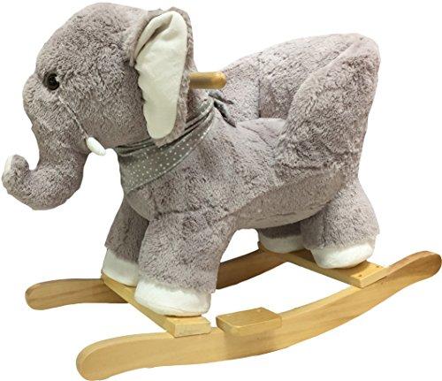 knorr-baby 60082 Schaukelelefant Fridolin, grau