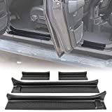 RT-TCZ Door Sill Guards Door Entry Guards for 2018-2019 Jeep Wrangler JL JLU & 2020 Jeep G...