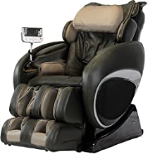 Osaki OS-4000T Full Body Massage Chair, Zero-Gravity Design Auto Recline and Leg Extension, Full Size Easy-to-Use Remote, Unique Foot Roller, 3 Level Massage Intensity, 3 Level Air Intensity, Black