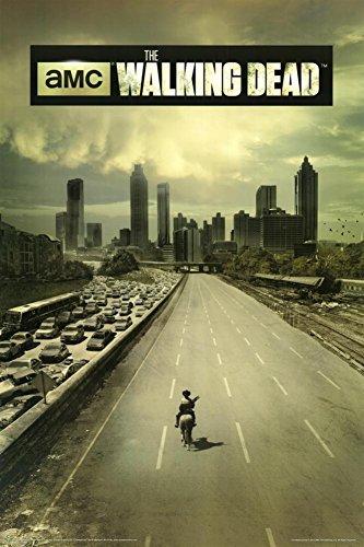 """Póster """"The Walking Dead"""" (Los muertos andantes) Dead City- Ciudad Muerta/1era. Temporada (61cm x 91,5cm)"""